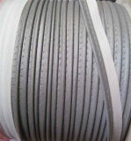 V6402b Reflective Piping Tape with 25 Circles Wash (Silver)