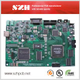 6 Layers Gold PCB CCTV PCBA