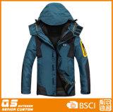 Men′s 3 in 1 Breathable Waterproof Jacket