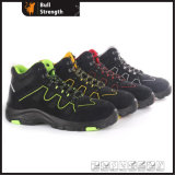 Ankle Suede Leather Safety Shoe with PU/Rubber Outsole (SN5415)