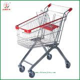 Zinc Clear Finish Shopping Trolley (JT-E01)