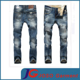 Fashion Scratch Straight Old Jeans for Men (JC3397)