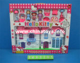 The Latest Promotion Gift House Set with Doll (1004701)