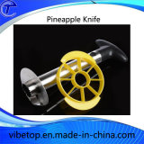 Stainless Steel Pineapple Peeler with Colorful Plastic Handle