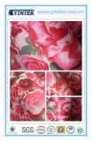 100% Poly Doupioni Print Polyester Fabric