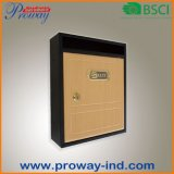 New Design Metal Mailbox with Wood