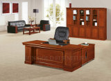 Classic Solid Wood with Veneer Office Executive Desk (SZ-OD519)