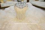 Beading Wedding Gown Stock 3D Flowers Bridal Wedding Dress E17913