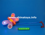 Promotional Pushing Bee Toy with Flashing Light (842904)