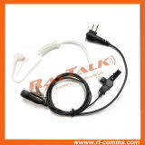 2-Wires Acoustic Clear Tube Earpiece for Motorola Cp140/Cp040/Cp200, etc