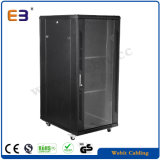 "19"" Glass Door Floor Network Cabinets"