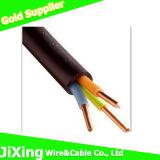 PVC Double Insulated Kvv 3 Core Copper Wire Control Cable
