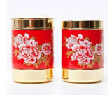 2017 New Design OEM Square Tea Tins
