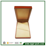 Simple Design Popular Orange Paper Wrapping Plastic Stationery Pen Box