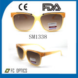 New Fashion Plastic Frame Sports Sunglasses with Rubber Band 9181