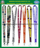Promotional Sublimation Printing Polyester Lanyard