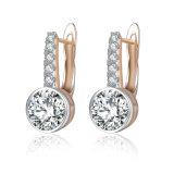 Wholesale Zircon Crystal Rhinestone Fashion Women Lady Stud Earring