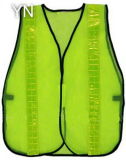 Mesh Safety Vest with Reflective Lattice Tape