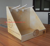 Cardboard Counter Display with Cmyk Printing, Paper Display Stand, Table Displayting, Carton Display, Paper Display Stand, Counter Display Unit