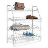 Four Tiers Simple Design Metal Shoe Rack with CE (G-SR02)