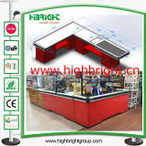 Custom Made Supermarket Store Retail Cash Register Counter