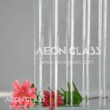 3.5mm, 4mm Clear Canelado Glass