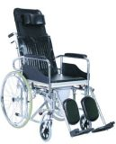 Hot Sale Best Price Steel Commode Wheel Chair with CE