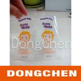 Custom Design Cmyk Printing Clear Film Sticker