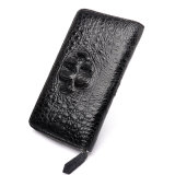 Luxury Gift Custom Men Clutch Bag Genuine Crocodile Travel Wallet