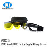 Usmc Airsoft X800 Interchangeable Lens Version Tactical Military Goggle Glasses