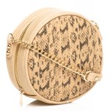 New Arrival PU Women Crossbody Handbag Round Satchel Bag