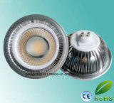 15W Dimmable Ce RoHS Listed AR111 GU10/G53 LED Spot Light