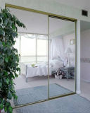 3-6mm Silver Mirror Glass for Sliding Door Mirror