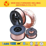 0.8mm Aws Er70s-6 Welding Wire Solid Solder Wire Welding Product with CO2 Gas Protecting
