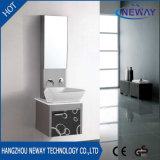 New Steel Mirrored Knock Down Bathroom Vanity Cabinet