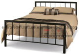 Steel Twin Size Bed for Bedroom in Metal