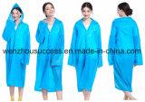 Durable Fashionable Rain Poncho with Hood