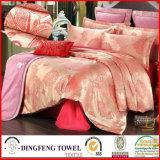 Fashion Poly-Cotton Jacquard Bedding Set Df-C129