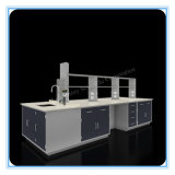 Steel Land Dental Laboratory Bench with Reagent Shelf (HL-QG-X029)