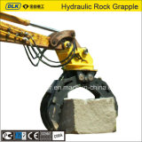 Hydraulic Rotating Rock Grapple for 12-16 Ton Excavator