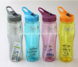 Promotional BPA Wholesale Plastic Drink Water Bottle with Straw