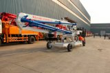 Jh Brand 15m Hydraulic/Wheel/Mobile Concrete Placing Boom