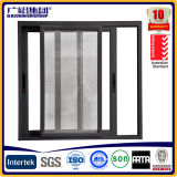 Aluminium Sliding Window with Iron Mosquito Net