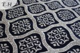 Chenille Jacquard Blue Furniture Sofa Fabric (fth31946)