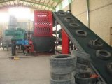 Full Automatic Waste Tyre Recycling Machine / Rubber Powder Production Line