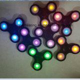 LED Tri Spinner Fidget Toy 608 Bearing Hand Spinner