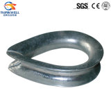Hot DIP Galvanized Stamping BS 464 Wire Rope Thimble