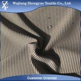 Waterproof Tartan Plaid Cation Polyester Elastane Fabric for Garment
