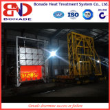 Large Box Type Gas Furnace for Quick Quenching
