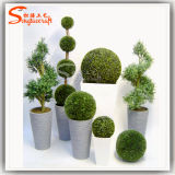 Cheapest Wholesale Plastic Artificial Boxwood Topiary Tree Factory